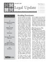 Legal Update Advertising Sample