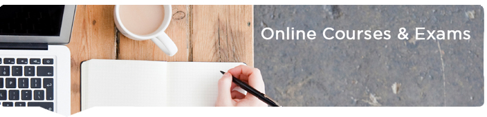 online courses page header