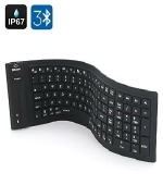 Tekit® Roll-Up Portable Keyboard - article size