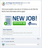 Facebook's Job Posting Feature - Article Size