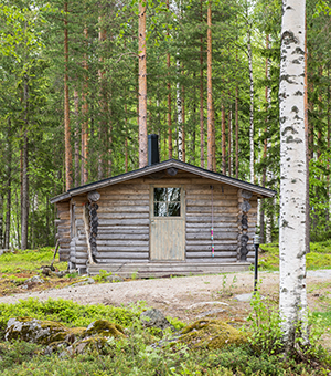 how to build a hunting cabin in the woods