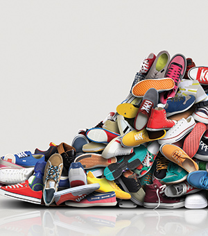 The Diverse Shoe Collection