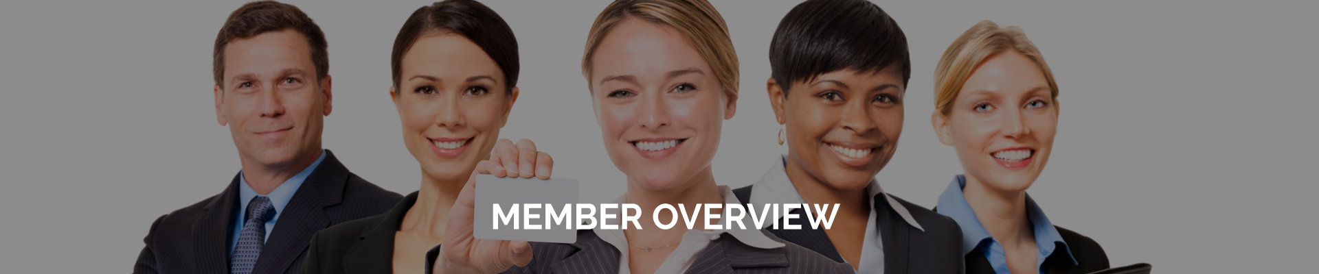 Member Benefits Overview Header